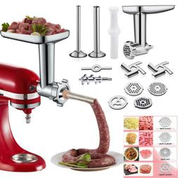 12pc Meat Grinder Attachment For Kitchenaid Stand Mixer, Foo