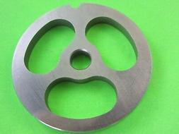 3-HOLE Size #8 Sausage Stuffer Stuffing Kidney plate disc fo