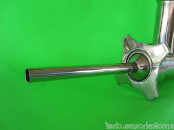 """#32 x 1/2""""  Stainless Electric Meat Grinder Sausage Stuffing"""