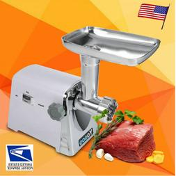 600W Electric Meat Grinder Stainless Steel Sausage Stuffer M
