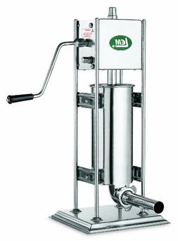 LEM Products 1112 Big Bite 10-Pound Stainless Steel Dual Gea
