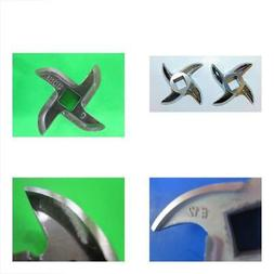Podoy Meat Grinder Blade 12# Stainless Steel  Cutter Replacement For Hobart Grin