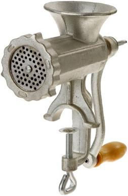 Meat Grinder with Tabletop Clamp- Cast Iron Meat Mincer and