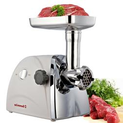 Electric Meat Grinder Sausage Maker Stainless Steel Cutting