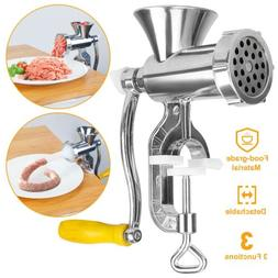 Electric Meat Grinder Sausage Stuffer Maker Stainless Cutter
