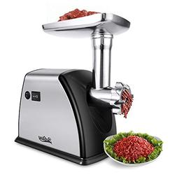 Betitay Electric Meat Grinder, 【1800 Watts Max】Stainless