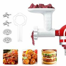 Food Grinder Attachment for KitchenAid Stand Mixer,Make Your