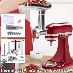 Food Meat Grinder & Juicer Attachment For Kitchenaid Stand M