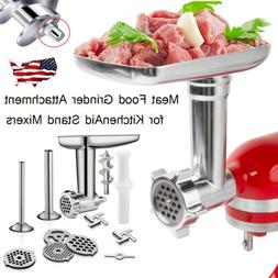 Food Meat Grinder Attachment For KitchenAid Stand Mixer Mach