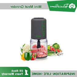 Kitchen Cup Food Chopper Electric Meat Grinder variable spee