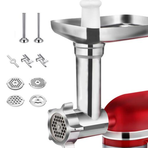 Metal Meat Grinder Attachment For KitchenAid Stand Mixers -