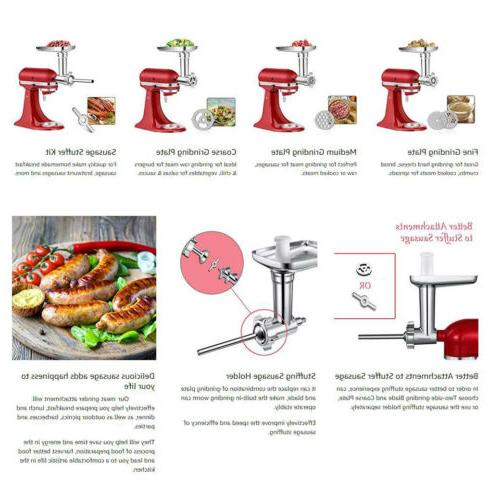 Durable Stainless Steel Meat Attachment KitchenAid Sausage