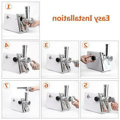 Durable Electric Grinder Stuffer Cutter Home
