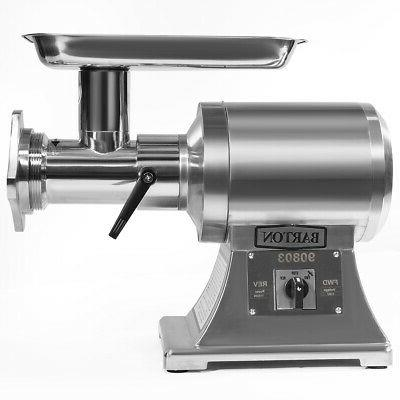 1100W Heavy Duty Electric #22 Meat Grinder Stainless Steel S