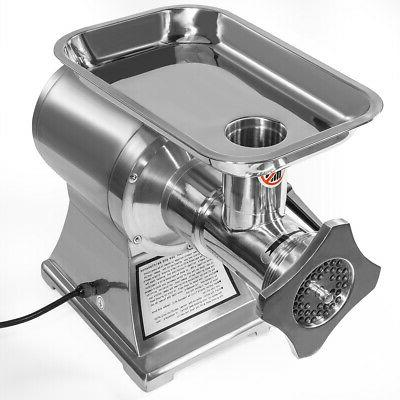 Commercial 1HP Meat 1100W Stainless Steel