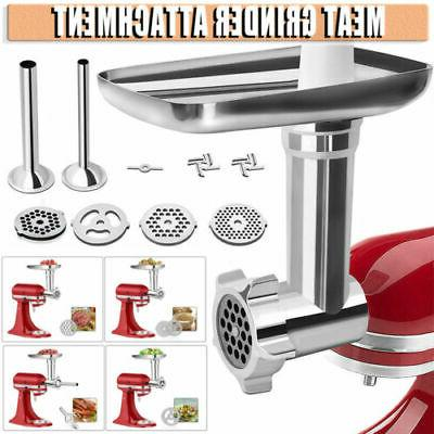 durable stainless steel food meat grinder attachment