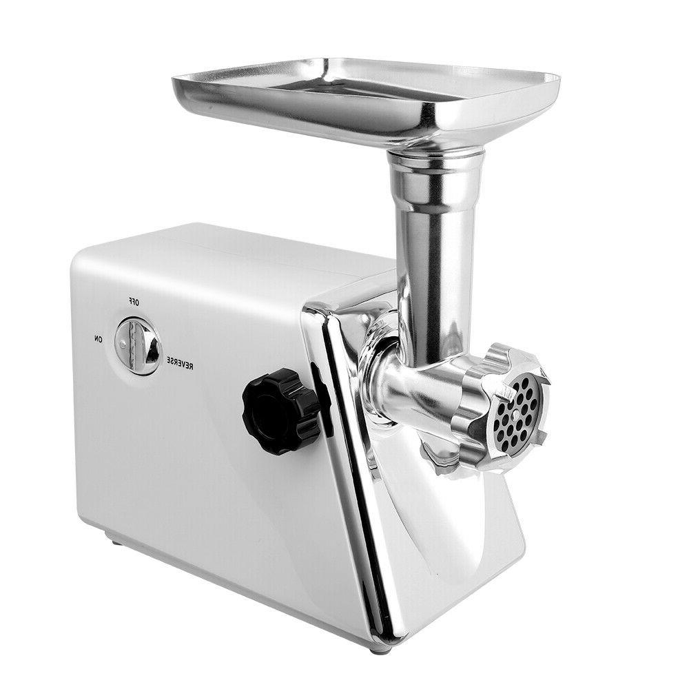 Electric Meat Grinder Sausage Maker with Accessories Handle