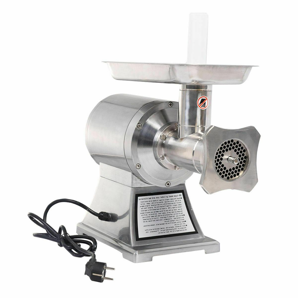 New Stainless True 1HP Electric Grinder No #12