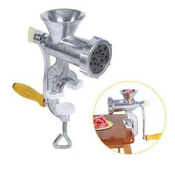 Manual Meat Grinder Mincer Food Mills Alloy Hand Operate Sau
