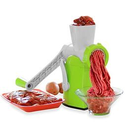 Zalik 4-In-1 Meat Grinder And Juicer - Hand Crank Manual Min