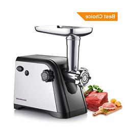 Homeleader Electric Meat Grinder, Stainless Steel Meat Mince