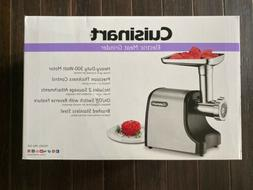 Cuisinart MG-100 Electric Meat Grinder, Stainless Steel Bran