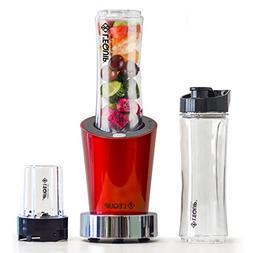 L'EQUIP 20 oz 250 Watts Personal Blender with 2 20 oz jars,