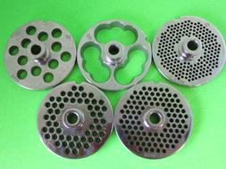 PICK YOUR SIZE #22 Meat grinder food chopper plate disc knif