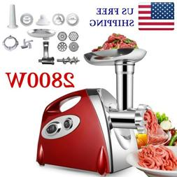 powerful 2800w electric meat mincer grinder sausage