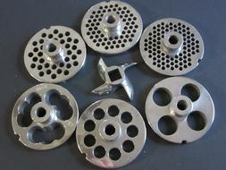 PICK YOUR SIZE #12 Meat grinder food chopper plate disc knif