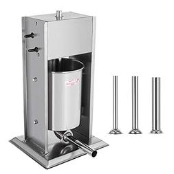 Happybuy Sausage 10L 22LB Vertical Stainless Steel Two Speed