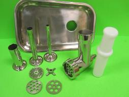 The Original Stainless Steel meat grinder attachment for Kit
