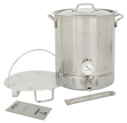 Bayou Classic 800-416 16 Gallon Stainless Steel 6 Piece Brew