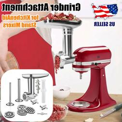 Stainless Steel Food Grinder Accessories for KitchenAid Stan