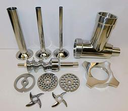 Stainless Steel Meat Grinder Attachment for Hobart & Univex