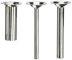 """THREE PACK 6"""" long Sausage Stuffing Stuffer Tubes for Kitche"""